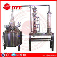 200L copper alcohol whiskey liquor distillation equipment