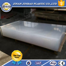 Transparent acrylic plastic panel for swimming pool 30mm 50mm