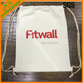 China supplier cotton shopping bag with drawstrings
