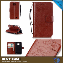 Retro PU Leather Smart Cover Case for Samsung Galaxy S2 i9100