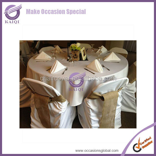 Hot selling design direct factory made wholesale poly oxford wedding table cloth