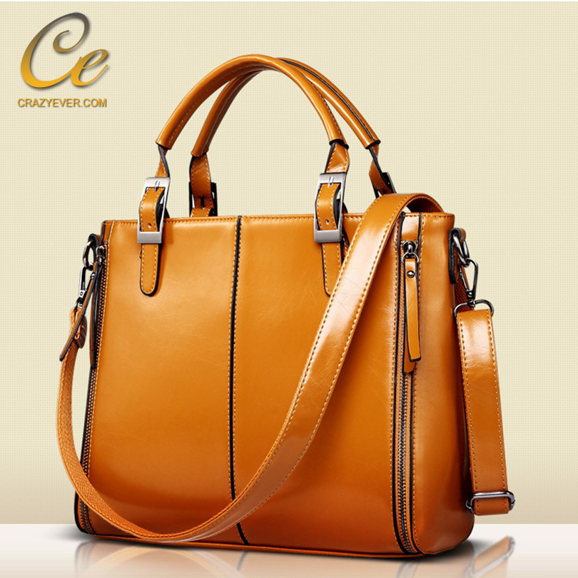 Newest Simple Leather Tote Bag Fashion Purses And Dubai Handbags 2016