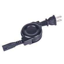 Euro power cable reels/retractable extension power cord reel one way retractable cable for home appliance