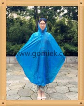 GMK-9EE bicycle rain poncho 100% waterproof outdoor raincoat use pearly portable material fanshion raincoat