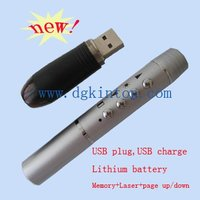 USB Rechargeable Wireless Presenter Control