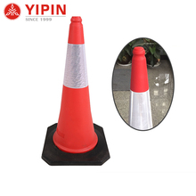 Latest design taper lane dividers safety cone