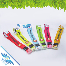 Fashion Polyester sublimation Bracelet As Giveaway Gifts