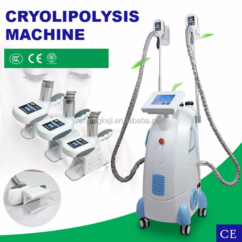2017 Popular fat freezing cryolipolysis cold body sculpting fat freeze slimming machine price