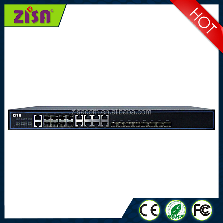 GPON chassis FTTH OLT for Fiber FTTH solution with 8 PON Port