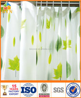 BYN christmas shower curtains fancy shower curtains color changing shower curtain DQ-YL12