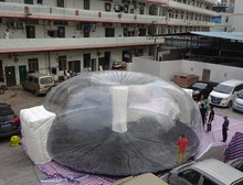 custom design transparnt bubble tent for sale, used party inflatable bubble tent