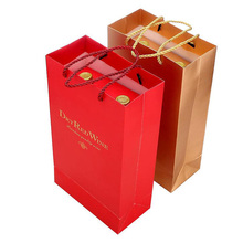 Alibaba Recommended Luxury Wine Paper Bag On Sale