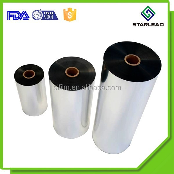 Factory low price Vacuum metalizing PET film aluminum coated polyester film
