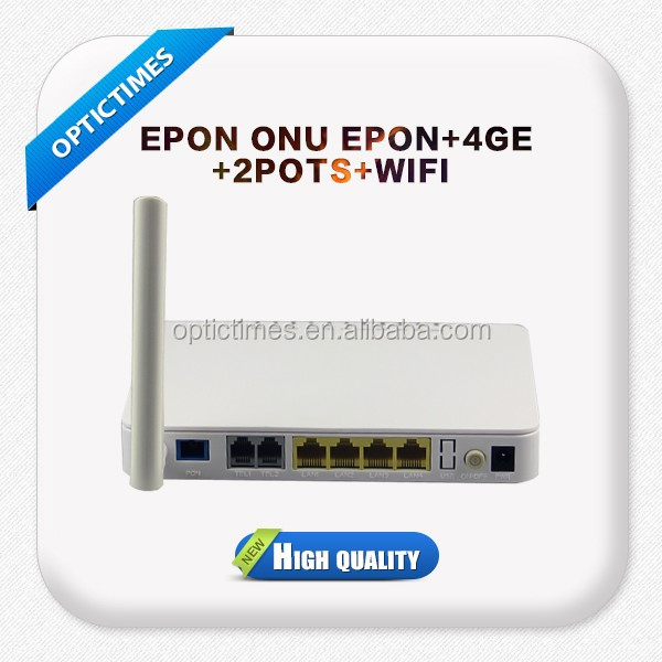 Gpon onu/ EPON ONU 4FE or GE ports 2POST and WIFI