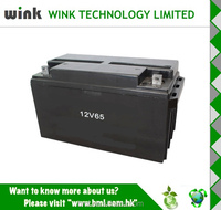 China wholesale Plastic 12v 65ah Back up Battery Storage Case