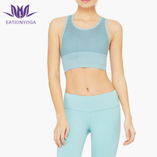 Custom Women Yoga Crop Top Racer Back Tank Top