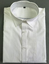 latest design white high quality anti wrinkle shirts for men cotton
