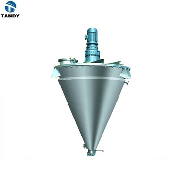 Mixing equipment cone double screw mixer machine