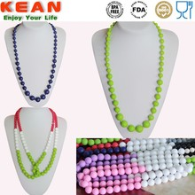Food Grade Silicone Plastic Chain Necklace