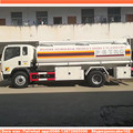 New fuel dispensing with pump sinotruck howo capacity fuel tank truck 10 ton