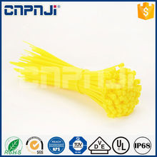 CNPNJI Manufacturer Wholesale 100pcs Package All Colors self- Lock Nylon Cable Tie