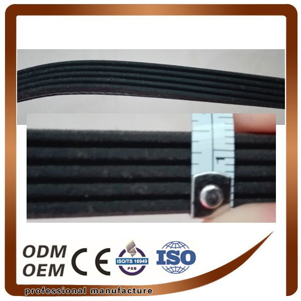 Excellent Quality Rubber Ribbed Belt Bando PK Fan Belt 6PK1230 for Hyunda i XG G4KC 3.0L