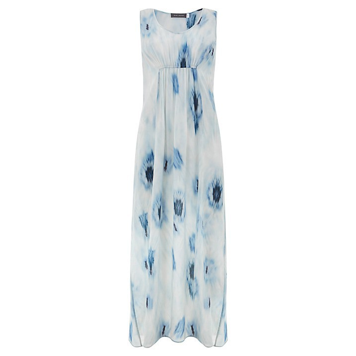 <strong>100</strong>% chiffon Summer Casual Maxi Dress /middle aged women <strong>fashion</strong> dress