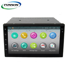 1G+16G Funwin Quad Core Android 4.4 Double Din Universal Car Head Unit