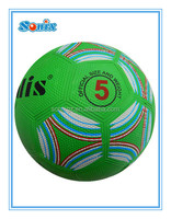Factory direct saling new original pebble rubber soccer balls