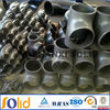 6 inch welded stainless carbon steel pipe fitting lateral tee