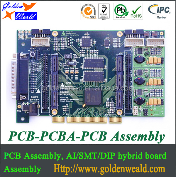 smt pcba & pcb assembly Shenzhen LED PCB Assembly Factory with FR4 1OZ cooper china pcba manufacturing