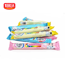 OEM factory 42g roll packing candy box mixed flavors yogurt halal gummy candy manufacture