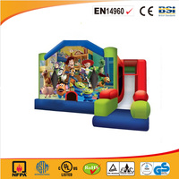 2016 best sales Snow White and the Seven Dwarfs inflatable bouncer with slide/inflatable Princess jumping castle