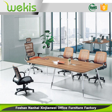 2016 Customized Teak Wooden Conference Office Furniture Table Design