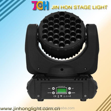 Hanging New style moving head light 36pcs 3w RGBW led beam light