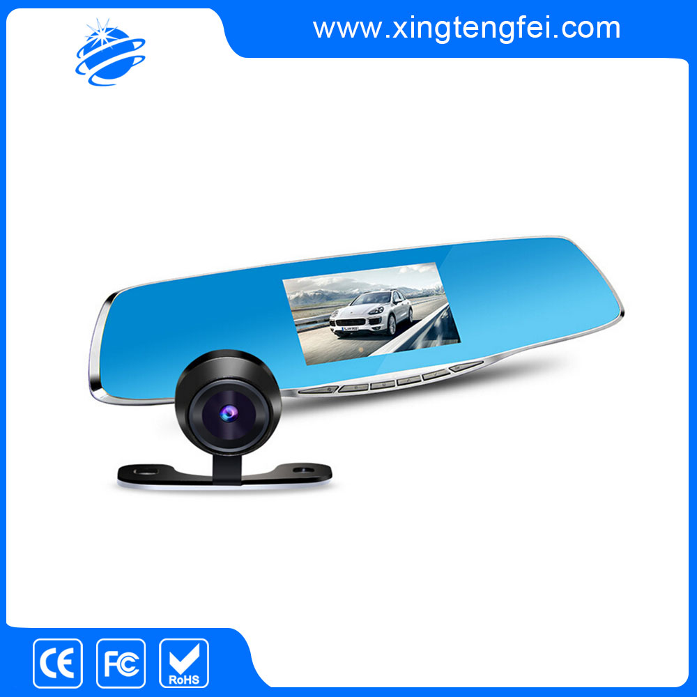 1080p rearview mirror dash cam from china