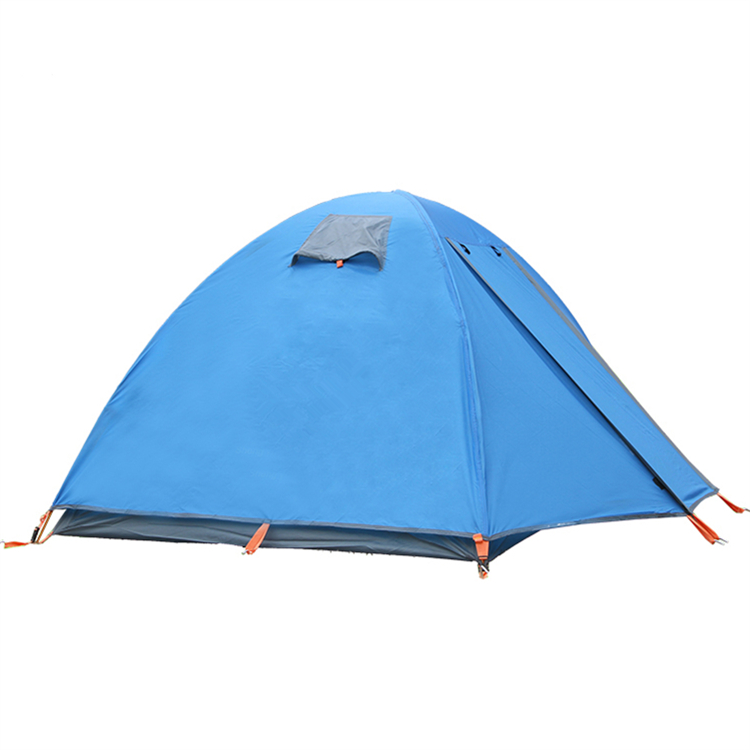 Wholesale Outdoor High Quality Blue 2 people Portable Wind Proof Camping Beach Tent Lightweight Storm-proof Tent