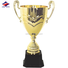 Promotion various metal crafts lasering logo trophy