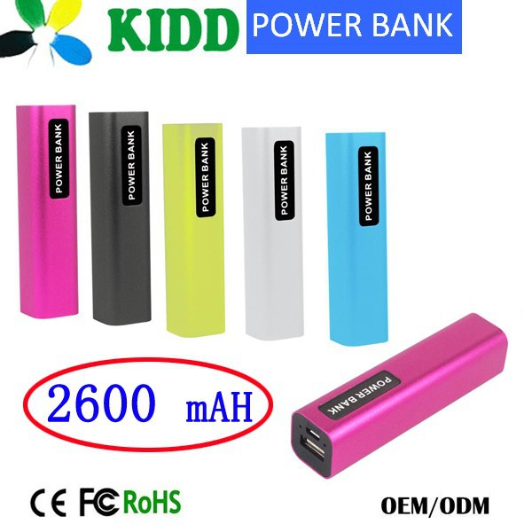 2600mah Power Bank 2600mah,Portable Power Pack External Battery Charger/Mobile Battery Charger Portable Battery Charger
