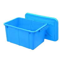 Customize plastic turnover box wholesale