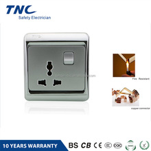 A-C01 OEM/OD Bedside Electric Light Switch with 3 pin socket