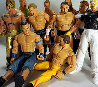 Realistic 3D wrestling action figure,OEM plastic wrestling action figure,make your own action figure