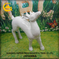 White Color Life Size Deer Statues Sale Garden Sculptures