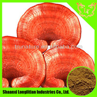 ISO,BV,KOSHER certificate Factory Supply High Quality Red Ganoderma Extract with ganoderan 20%UV