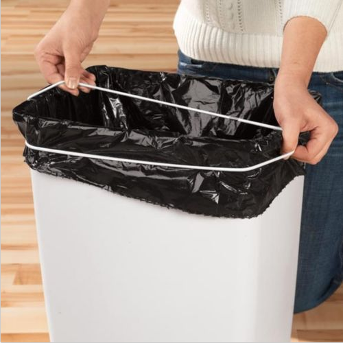 Heavy-Duty Rubber TRASH CAN BANDS Kitchen Garbage Can Bags Band 13-33 Gallon