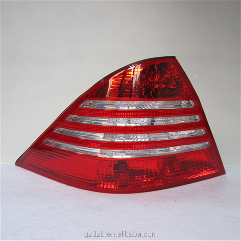 replacement part auto tail light new version LED stop signal function rear lamp for W220 tail light
