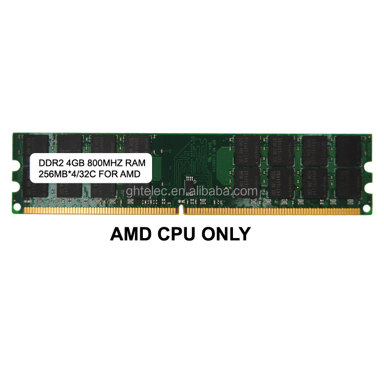 256MBX4 32IC ddr2 4gb amd memory