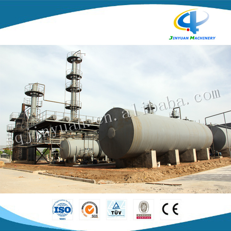 waste engine oil distillation plant 8 tons capacity used oil purification equipment