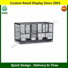 Deluxe Divided Pull-out tray grille metal rabbit cages YM5-547
