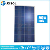 sunpower solar cells 260w polycrystalline solar panel